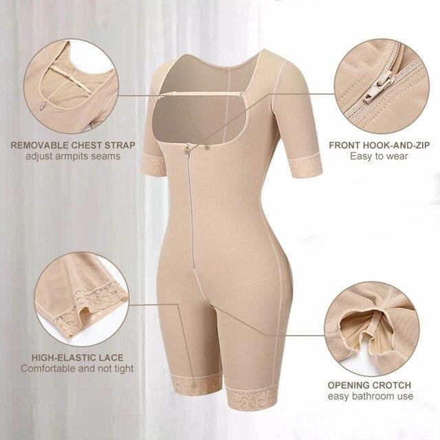 Corps complet taille formateur minceur Shaper jambe bras ventre contrôle culotte buste Push Up Shapewear bout à bout Lifter Body