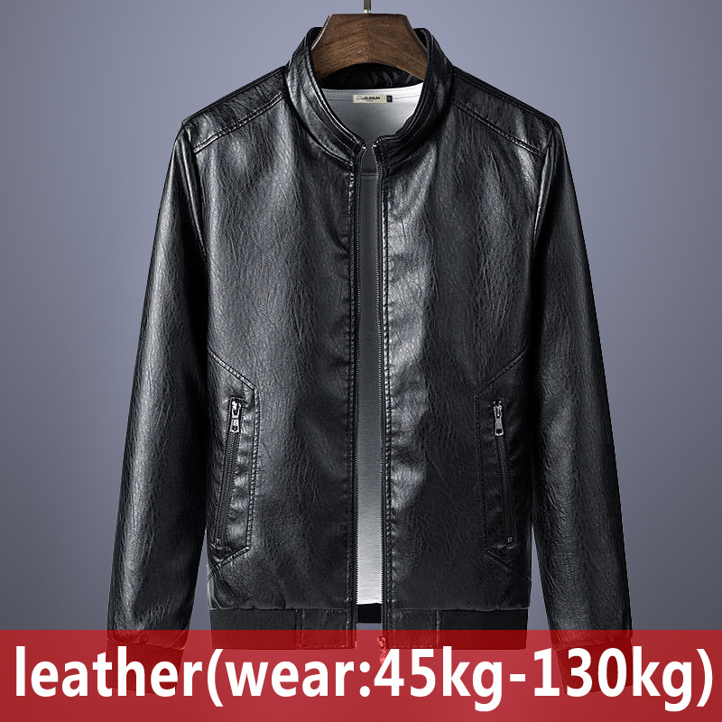 2020 New Men's Sheep Fur Leather Jacket Fashion Spring Autumn Foreign Trade Jackets Large Size Leather Male Motorcycle Coats