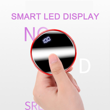 Mini Round Portable Power Bank Micro USB Charging Small Size