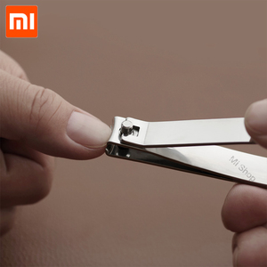 Image 4 - Xiaomi Huohou สแตนเลสเล็บ Clipper 5pcs จมูกผม Trimmer แบบพกพาชุดสุขอนามัยสแตนเลสตัดเล็บชุดเครื่องมือ