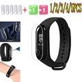 5 шт./партия Защитная пленка для Xiaomi mi Band 2 3 Защита экрана mi band банд2 банд3 защита мягкого нано браслет