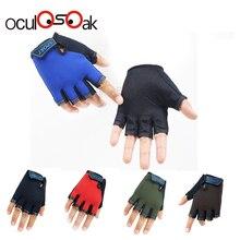 Новые перчатки для детей, полупальцевые детские варежки с рисунком из мультфильма, перчатки без пальцев для девочек 5-13 лет для мальчиков и девочек