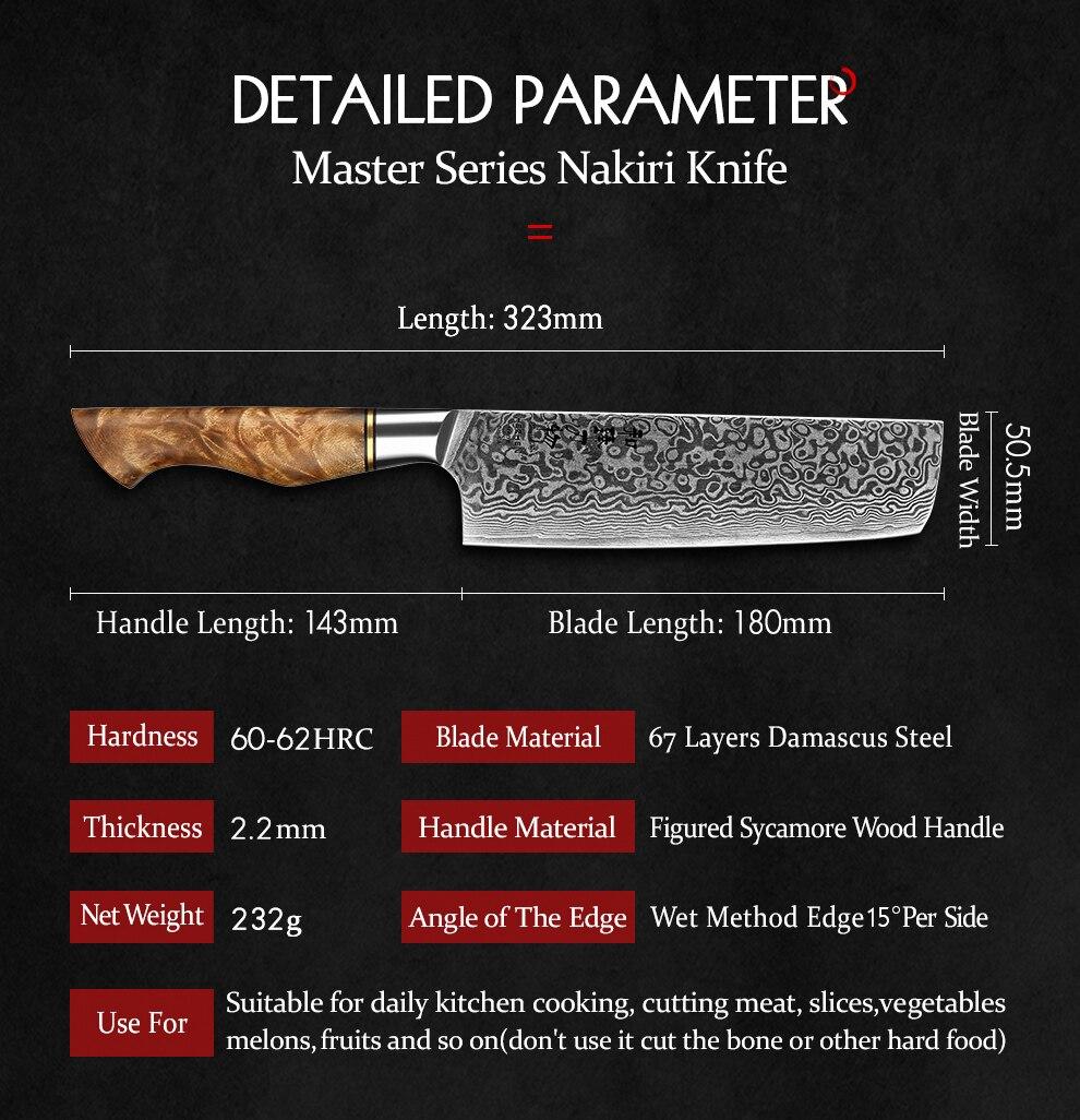 camada de aço damasco super cozinhar faca