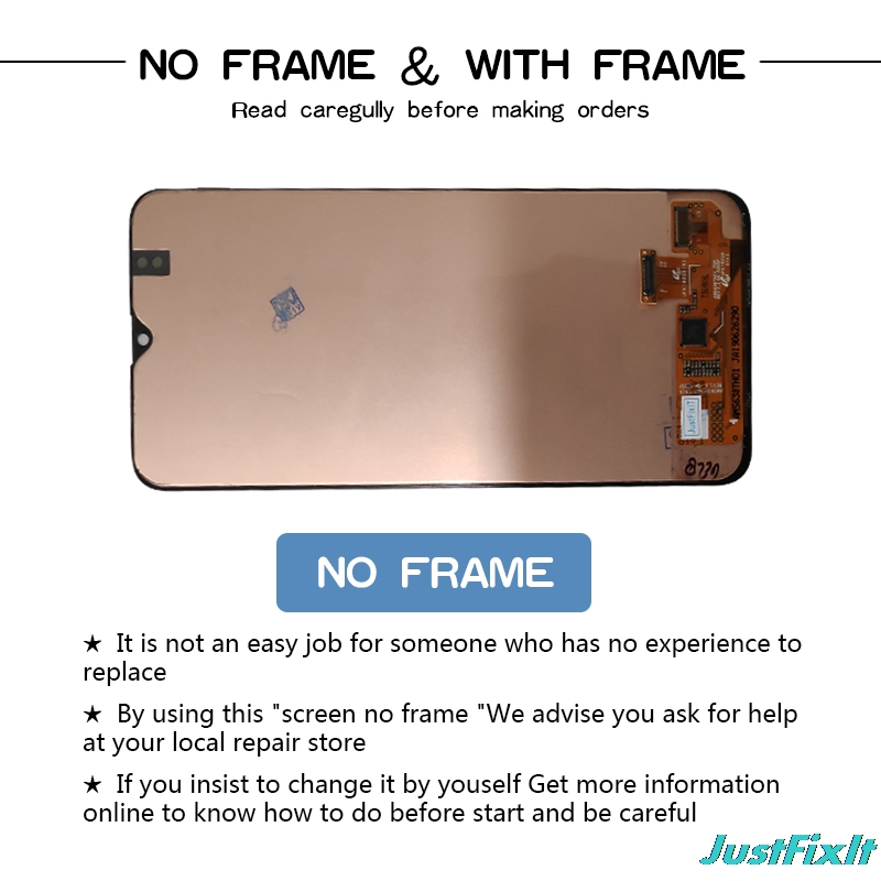 Original For Samsung Galaxy A20 A205G/DS <font><b>A205F</b></font>/DS A205GN/DS <font><b>SM</b></font>-A205FN/DS Lcd Display Touch Screen Digitizer Assembly image