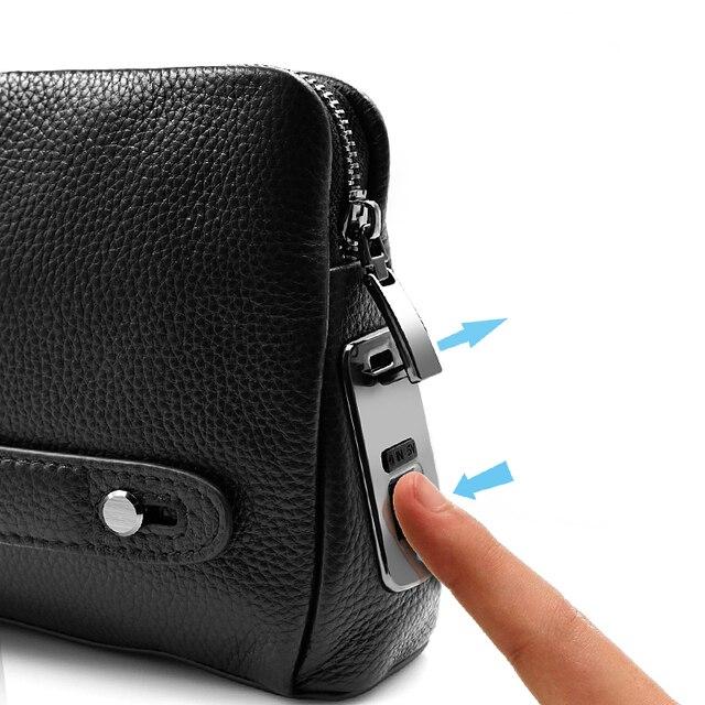 Купить мужские сумки с отпечатками пальцев для мужчин кожаная ручная картинки