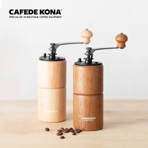 Image 5 - CAFEDE KONA Manual coffee grinder with Adjustable Setting Conical Burr Mill Burr Coffee Grinder for French Drip Coffee Mokapot