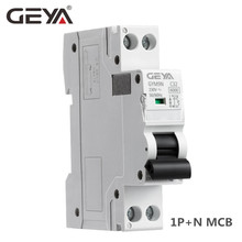 DPN MCB 1P+N 6A 10A 16A 20A 25A 32A 40A 220V AC Mini Circuit Breaker 6KA