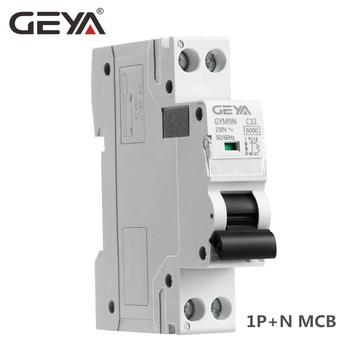 цена на DPN MCB 1P+N 6A 10A 16A 20A 25A 32A 40A 220V AC Mini Circuit Breaker 6KA