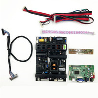 controller board 51P HDMI VGA RTD2483 V1.1 Built-in Jump Cap program support BOE 32 inch 1920X1080 LVDS LCD panel DV320FHM-NN0