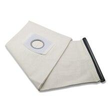 цена на 1 PCS For KARCHER VACUUM CLEANER Cloth DUST Filter BAGS WD3200 WD3300 WD Fit A2204/A2656/WD3.200/SE4001/MV1/MV3