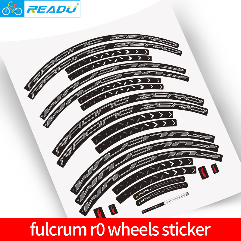 R0 Wheel Sticker Road Bike Climbing Rim Sticker Racing Zero Road Bicycle Decals