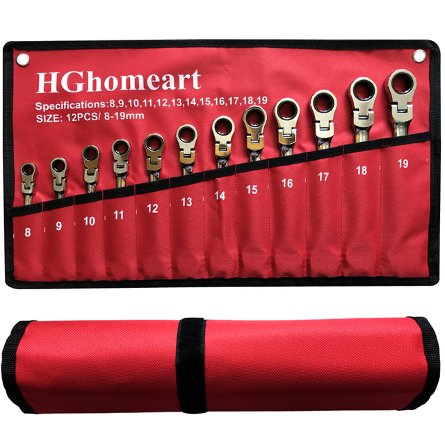 $ US $14.57 key Set Wrench Spanner Activity Head Ratchet Wrench Set Car Repair Tool Socket Set Hand Tools Wrenches Garage Tools