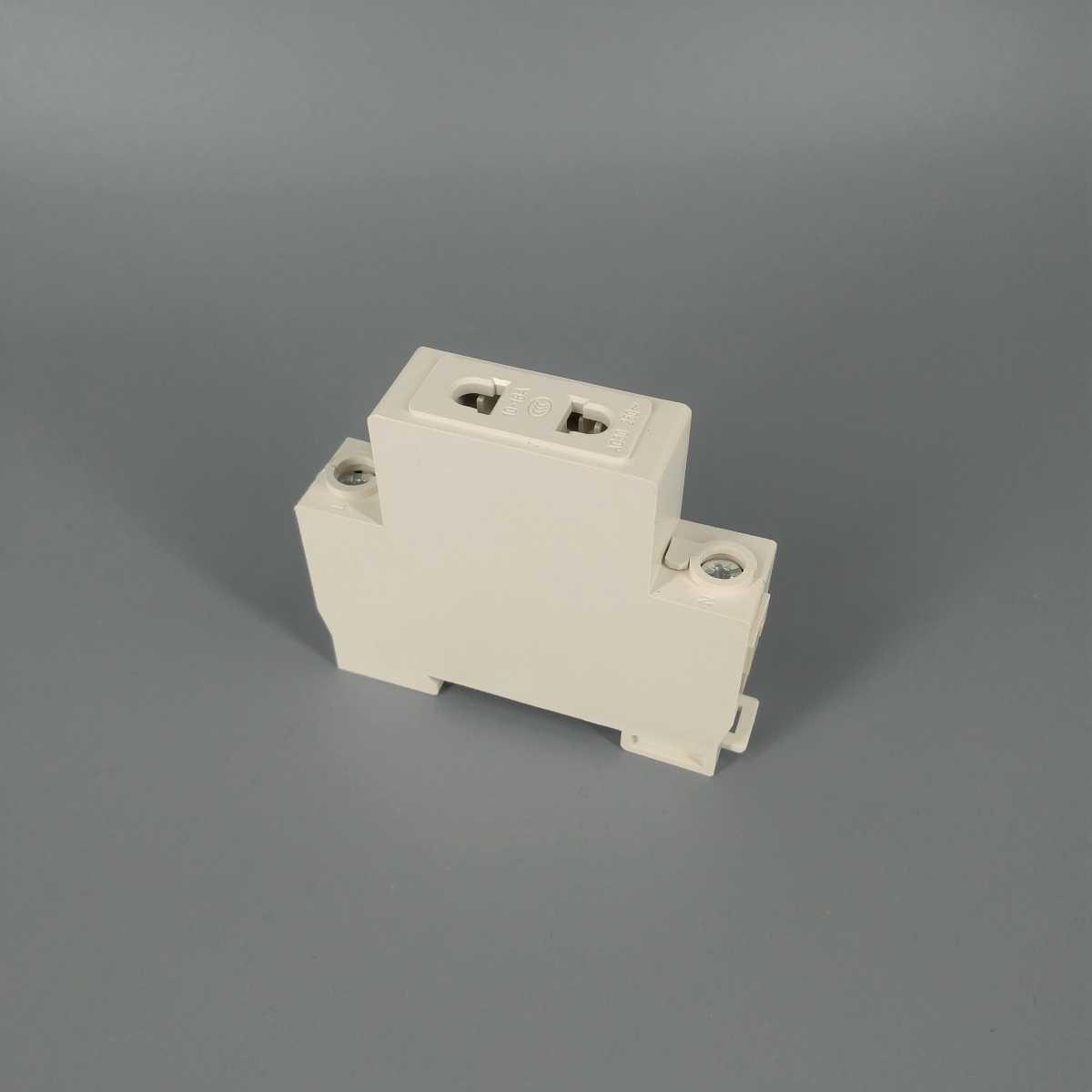 AC30 2 broches prise 35mm Din montage sur Rail prise modulaire 10-16A 250V