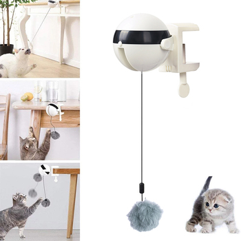 Electric Automatic Lifting Cat Ball Toy Interactive Puzzle Smart Pet Cat Ball Teaser Toys Pet Supply Lifting Balls Electric 1