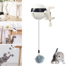 Boule à levage électrique automatique pour chat, balles folles, puzzle intelligent, jouets et fournitures pour animaux domestiques