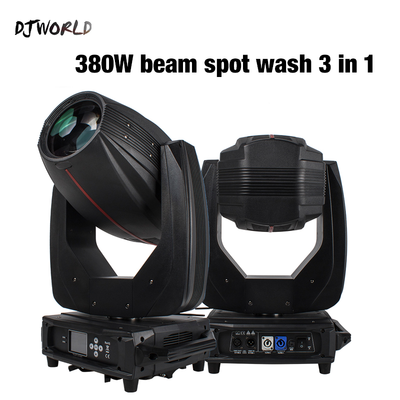 Djworld Professional Lyre Touch Screen Beam&Spot&Wash 380W Lighting  Moving Head  In Stage Light DMX 512 Disco Party Light