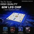 Высокая яркость 60 Вт RGBW 4 в 1 светодиодный подходит для Светодиодный луч перемещение головы 60W беговые кроссовки  легкая
