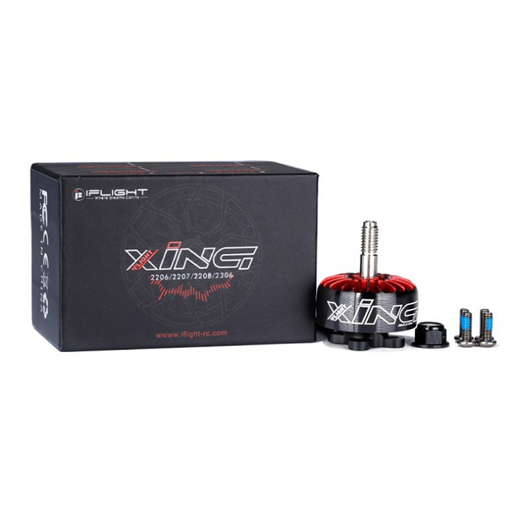 New pattern IFlight XING 2207 1700KV / 1800KV / 2450KV / 2750KV 2-6S Brushless Motor for RC FPV Racing drone Multi Rotor Parts A