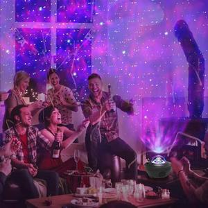 Image 5 - المحيط موجة العارض السماء المرصعة بالنجوم ليلة بلوتوث USB صوت LED ضوء الليل التحكم عن بعد TF بطاقة مشغل موسيقى رومانسية مصباح هدية