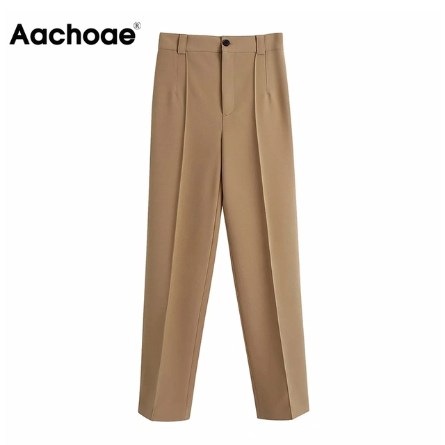 Elegant Khaki Pants  1