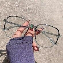 Polygonal-Glasses Oversize Myopia Novel Women CRSD for with Women-1.0-6.0 New-Fashion
