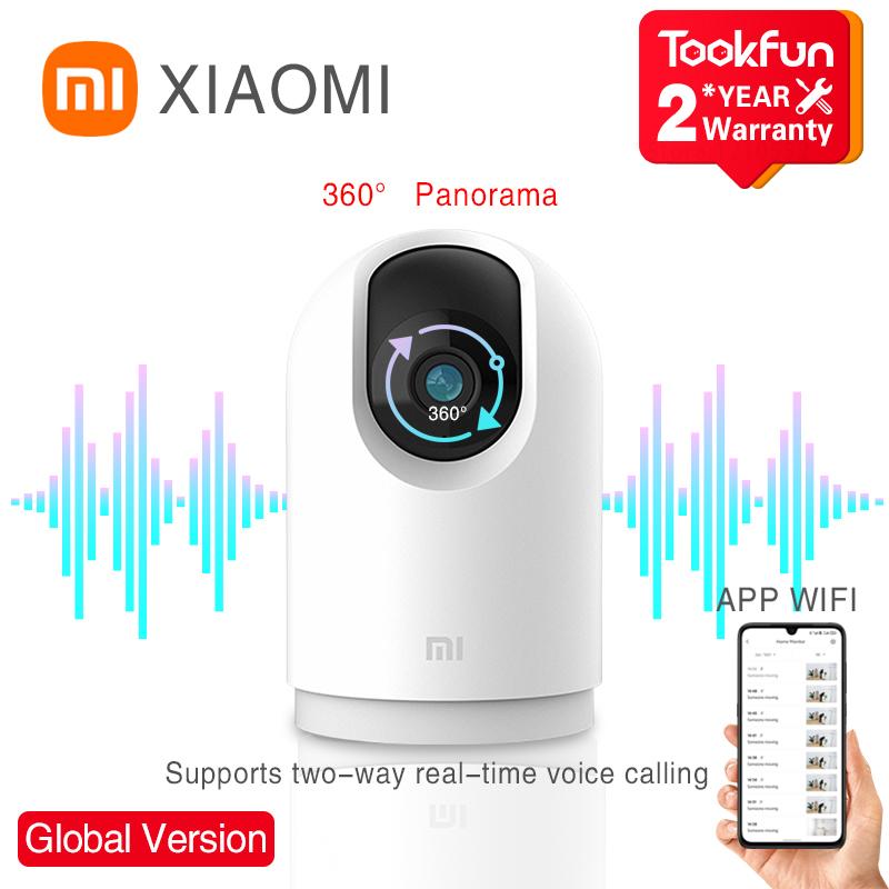 Global Version Xiaomi Mi 360° Home Security Camera 2K Pro WiFi ip Monitoring Infrared Night Vision Voice Intercom AI Alarm Mijia