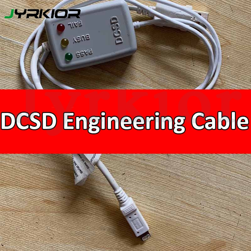 DCSD Alex Cable For IPhone Serial Port Engineering Cable WL 64bit Cable Run Tests And Write To Enter The Purple Screen