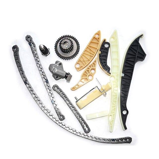 AP01 Timing Chain Kit (13 PCS)For Audi A3 A4 A5 A6 Q5 TT Allroad/VW Beetle EOS GTI Jetta Passat Tiguan CC Golf 1.8 2.0 TSI 4