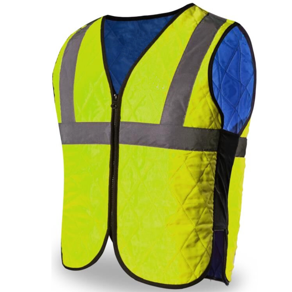ANSI Safety Vest Sermokool Fabric Evaporation Waterproof Reflective Stripes Clothes Outdoor Construction Workers Rider SK-6538