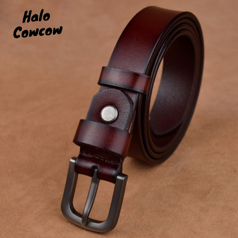 80 90cm High Quality Children Leather Belts For Boys Girls Kid Casual Genuine Leather Waist Strap Waistband For Student Gown New