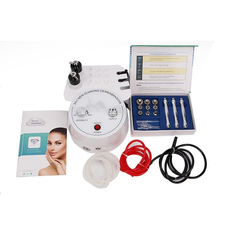 3 in 1 Diamond Microdermabrasion Machine Water Spray Exfoliation Dermabrasion Machine Facial Peeling Tool