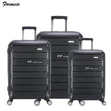 Travel tale 20 дюймов 24 дюйма 28 дюймов PP тележка чемодан набор расширяемый жёсткий мужские шорты для купания комплект сумки на колёсиках Комплект 3 предмета в комплекте