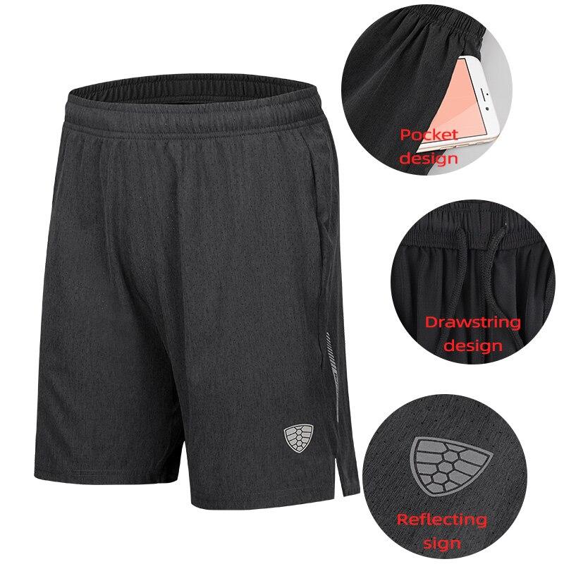 Running Shorts Men Sports Jogger Fitness Pockets Shorts Quick Dry Men Gym Breathable Shorts Sport Gyms Short Men 2019 Summer