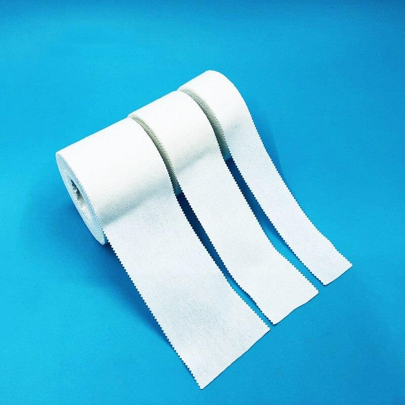 10 м 50/38/25 мм, хлопковая белая медицинская клейкая лента премиум-класса, Спортивная связующая физиотерапевтическая эластичная повязка для мы...