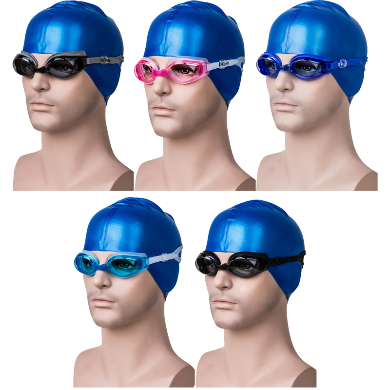 Professional Waterproof Swimming Goggles Water Eyewear Diving Glasses Silicone UV Protection Adjustable Adult Men Women Anti-Fog