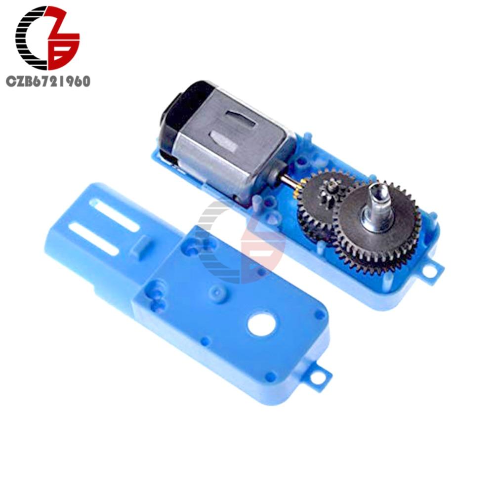 1: 90 110 об/мин 3 V-36 V металл DC Шестерни мотор измельчитель одиночного вала оси с бесщеточным двигателем постоянного тока для Arduino вентилятор Ро...