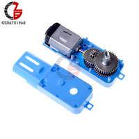 Motor de engranaje de Metal de 3V-36V, 1:90, 110RPM, eje simple, CC, sin escobillas, para Arduino Fan, Robot, coche inteligente, Juguetes DIY