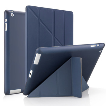Case for ipad 2/3/4 9.7 2018/2017 5/6th Air 3 10.5 Leather Soft Smart Cover for apple iPad 10.2 7/8th mini 1/2/3/4/5 Table Case 1