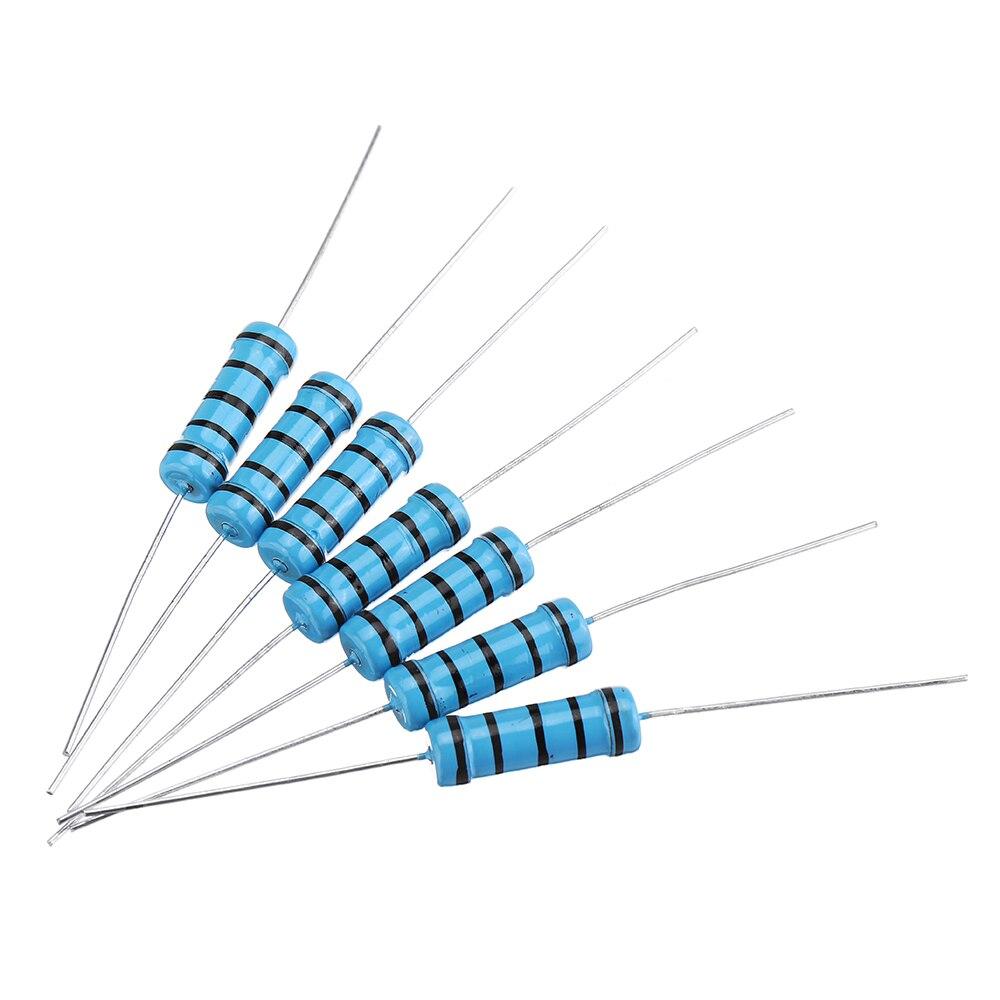 20pcs 3W 1KR 1K ohm Metal Film Resistor 1/% Error 3w DIP Color Ring Resistance