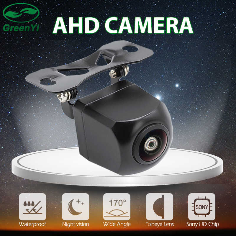 Hd 170 Graden Sterrenlicht Nachtzicht Fisheye Lens 1280*720P Ahd Reverse Backup Camera Voor Android Auto Dvd ahd Parking Monitor