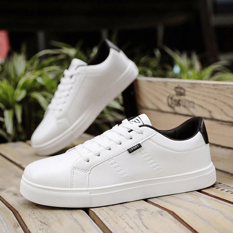 2020 Spring Summer White Shoes Men Sneakers Man Casual Shoes Classic Black White Male Shoes KA1262