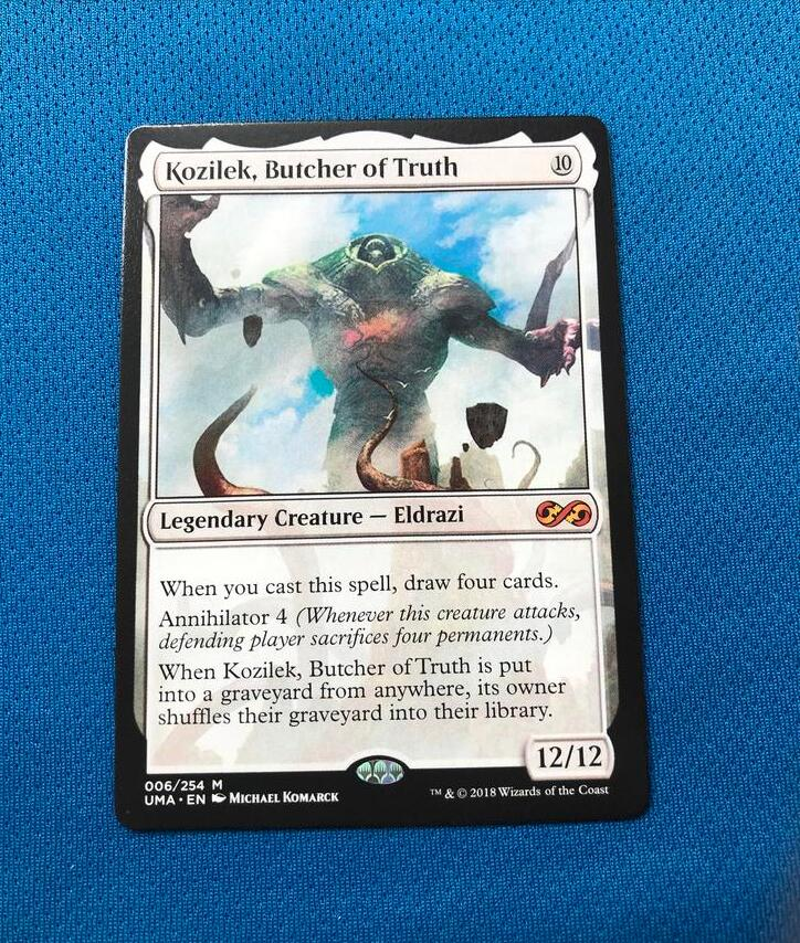 Kozilek, Butcher Of Truth 	UMA Hologram Magician ProxyKing 8.0 VIP The Proxy Cards To Gathering Every Single Mg Card.