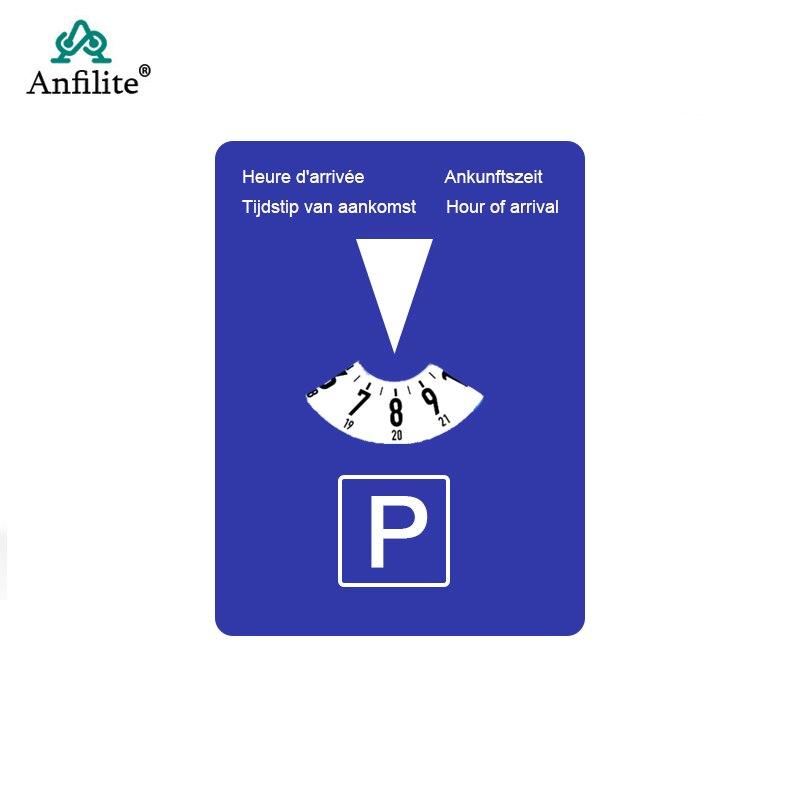 Автомобильный парковочный диск, таймер, часы, дисплей времени прибытия, пластиковый диск, инструменты для парковки, портативные часы для ав...