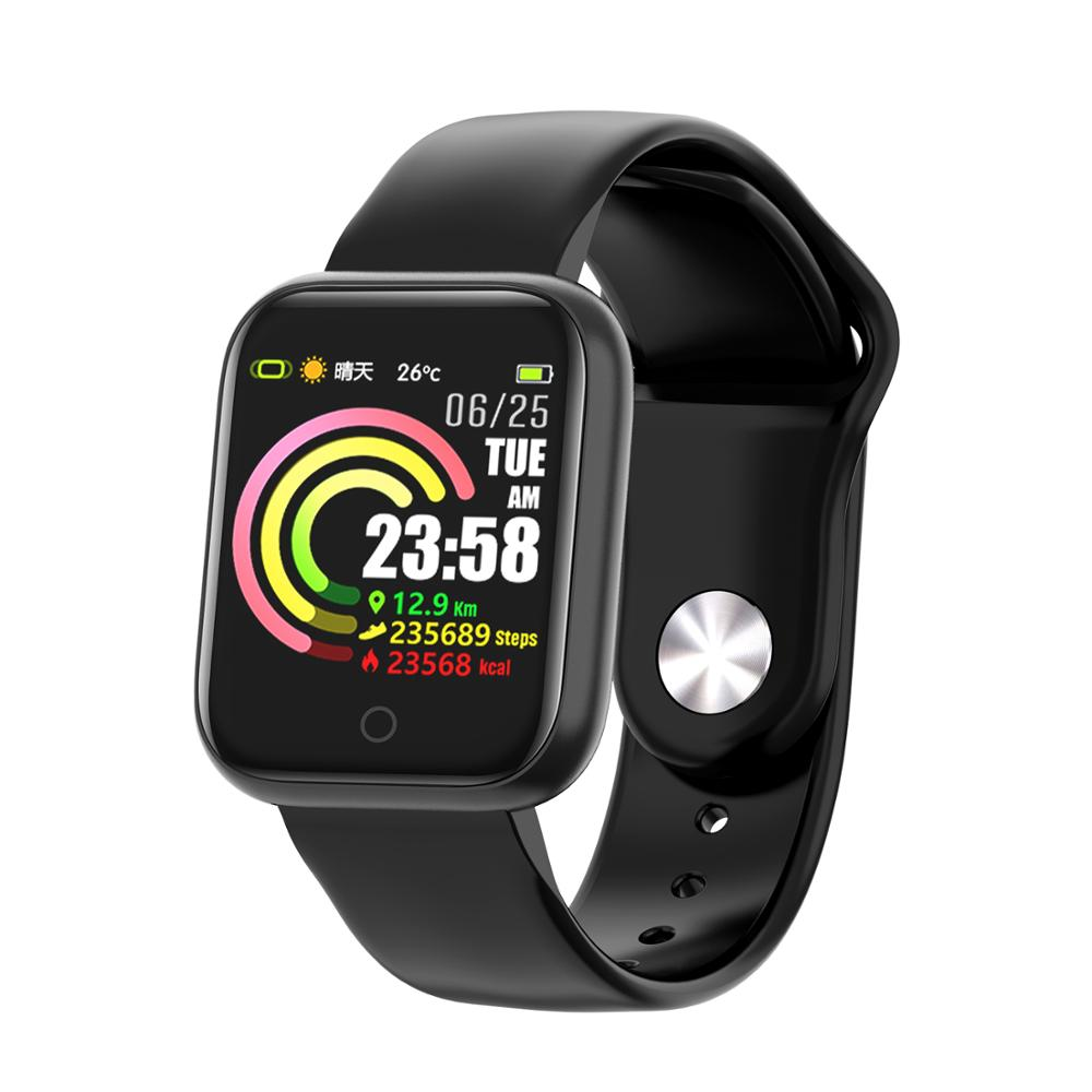 QW21 Smart Watch Monitor Fitness Tracker Heart Rate Blood Pressure Sport Watch Alarm Clock For Android IOS xiaomi huawei iphone