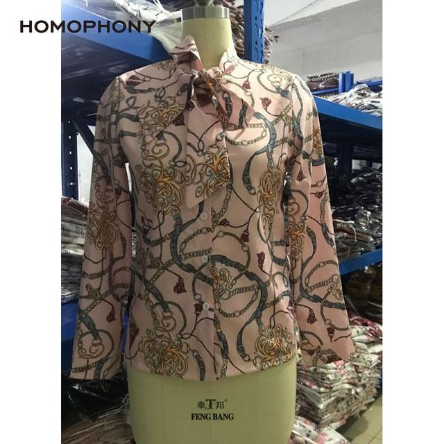 Homophony Slim Chain Blouse 5