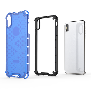 Image 5 - Honeycomb Rugged Hybrid Armor Case For iPhone 11 Pro XS Max XR XS X 8 7 6s 6 Plus Cover Transparent Shell  Accessories (XS0514)