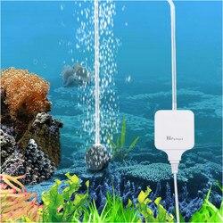 Ультратихий аквариумный воздушный насос 110 В 220 в 1,8 Вт для аквариума нано воздушный компрессор с воздушными камнями силиконовые трубки Гидр...
