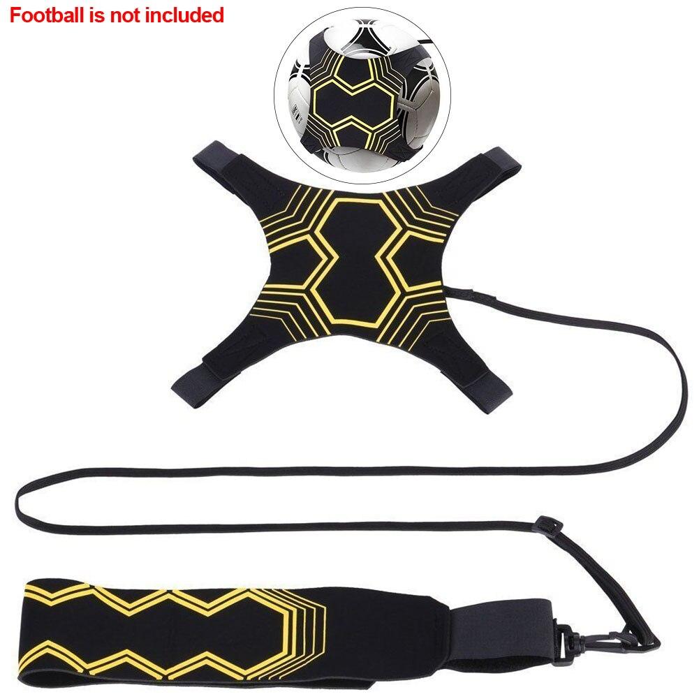 Football Strap Hand-free Returner Kick Ball Neoprene Training Aid Soccer Trainer Durable Practice Control Skills Sports Supplies