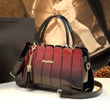 Handbag Women Tote Messenger-Bag Crossbody-Bags Party Patent Leather High-Quality Ladies