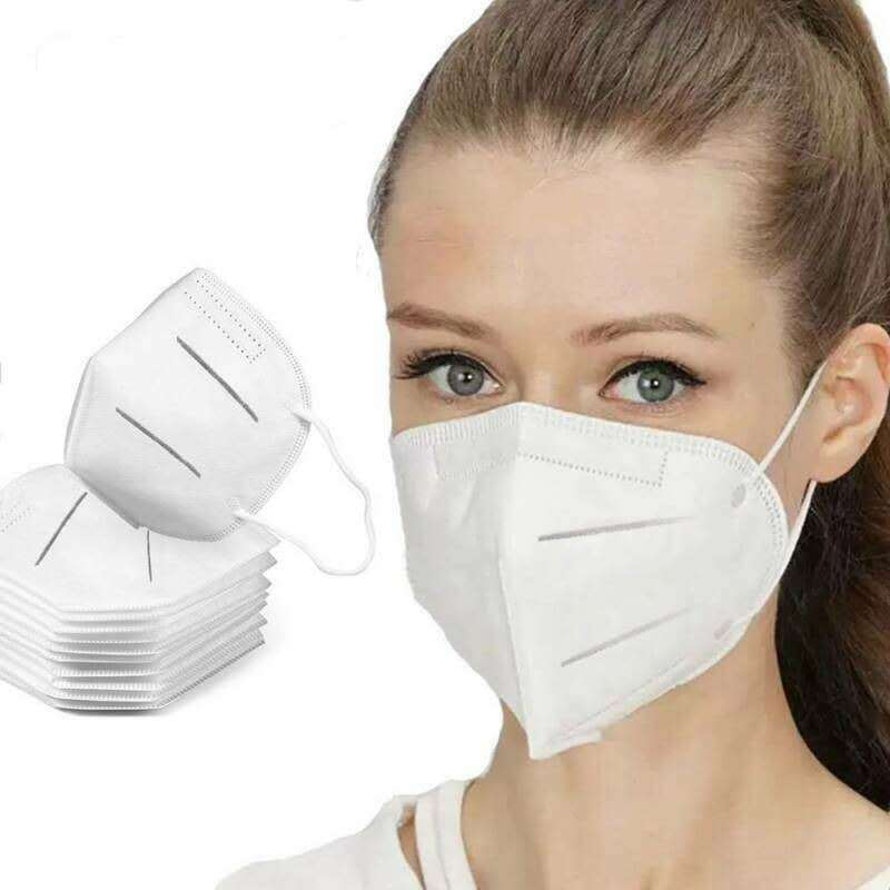 5pc Fast Delivery KN95 Anti Mask N95 Safety Protective Mask 95% Filtration Anti Dust FFP2 Gas Mask Send Within 24 Hours